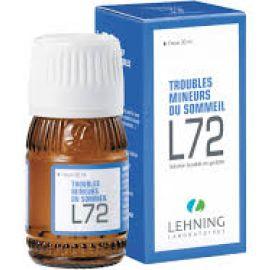 Lehning L72 60 ml Gotas Homeopáticas