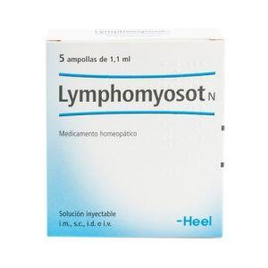 Lymphomyosot N 5 ampollas de 1,1 ml Heel