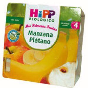Hipp Potito Manzana Plátano 4x100g