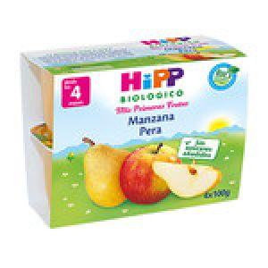 Hipp biológico manzana y pera 4x100g