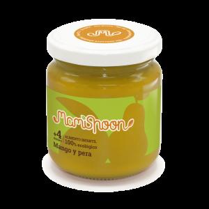 MamiSpoon Potito ecológico de Mango y Pera 180g
