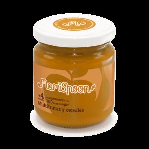 MamiSpoon Potito ecológico de Multifrutas y Cereales 180g