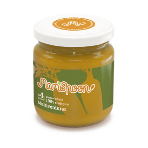 MamiSpoon Potito ecológico de Multiverduras 180g