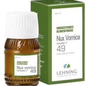NUX VOMICA N° 49 Gotas Orales en Solución 30 ml Lehning