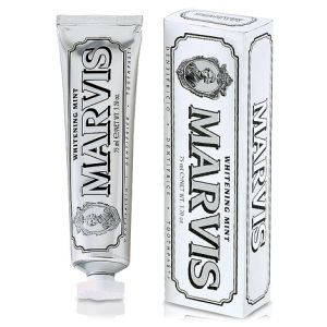 Dentífrico MARVIS Whitening Mint Blanqueador 75 Ml