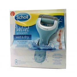 Dr. Scholl Velvet Smooth Lima Electrónica azul ducha wet and dry