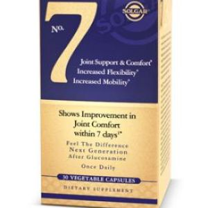 Solgar 7 Joint Support&Comfort, de Solgar 30 cápsulas vegetales