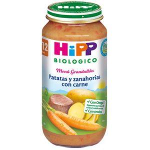 Hipp Biologico zanahorias, patatas y carne de vaca