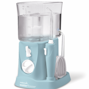Dentaid irrigador bucal eléctrico waterpik traveler azul turquesa