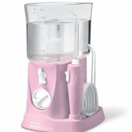Dentaid irrigador bucal eléctrico waterpik traveler rosa
