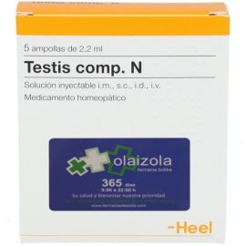 Heel Testis Compositum 100 ampollas 2,2 ml
