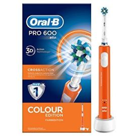 Oral B PRO 600 crossaction cepillo dientes eléctrico edición color limitada
