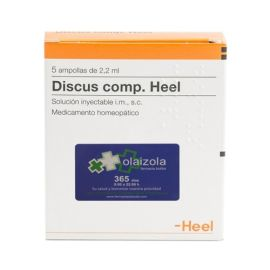 Heel Discus Compositum 5 ampollas 2,2ml