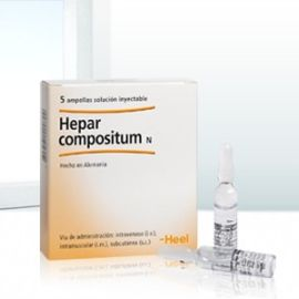 Heel Hepar Compositum 5 ampollas 2,2 ml