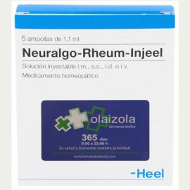 Neuralgo-Rheum-Injeel 50 ampollas 1,1 ml