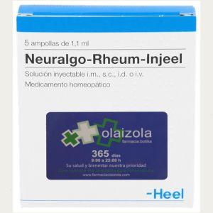 Neuralgo-Rheum-Injeel 100 ampollas 1,1 ml