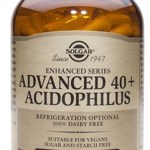 Solgar advanced 40+acidophilus 60 caps.