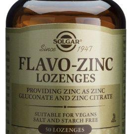 Solgar flavo-zinc lozenges 50 caps.