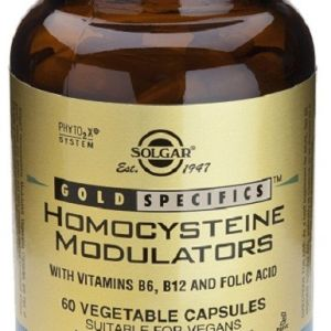 Solgar Homocysteine Modulators 60 cápsulas vegetales