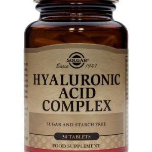 Solgar Ácido Hialurónico Complex 30 comprimidos