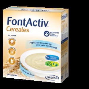 FontActiv 8 cereales con crema de arroz 600 g