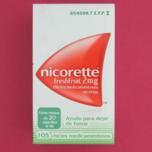 Nicorette freshfruit (2 mg 105 chicles)