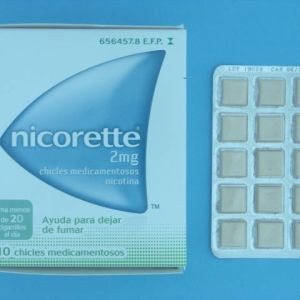 Nicorette (2 mg 210 chicles)