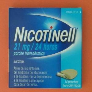 Nicotinell (21 mg/24 h 14 parches transdermicos 52.5 mg)