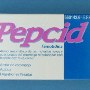 Pepcid (10 mg 12 comprimidos recubiertos)