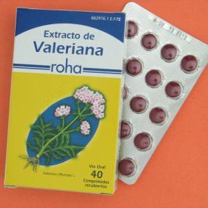 Extracto valeriana roha (140 mg 40 comprimidos recubiertos)
