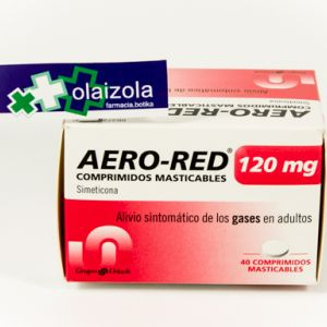 Aero red (120 mg 40 comprimidos masticables)