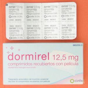 Dormirel (12.5 mg 16 comprimidos recubiertos)