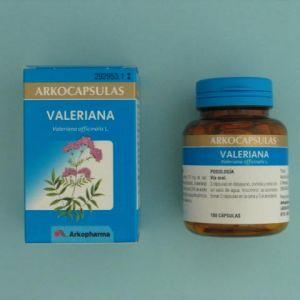 Arkocápsulas valeriana (350 mg 84 cápsulas)