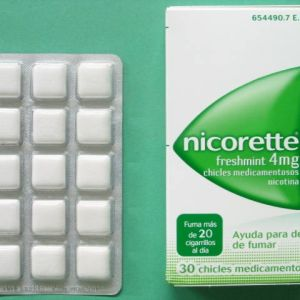 Nicorette ice mint (4 mg 30 chicles)