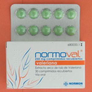 Normoval (250 mg 30 comprimidos recubiertos)