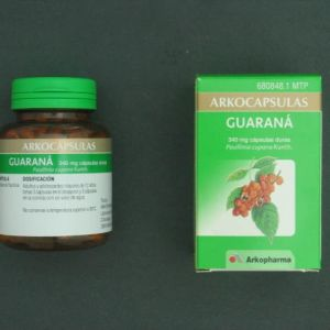 Arkocápsulas guarana (340 mg 100 cápsulas)