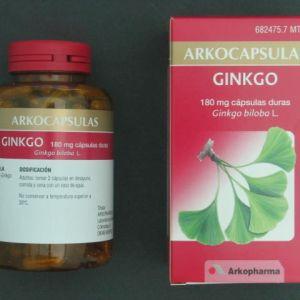 Arkocápsulas ginkgo (180 mg 200 cápsulas)
