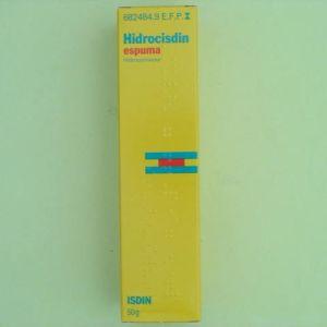 Hidrocisdin (0.5% aerosol topico espuma 50 g)