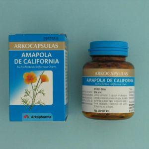 Arkocápsulas amapola de california (240 mg 100 cápsulas)