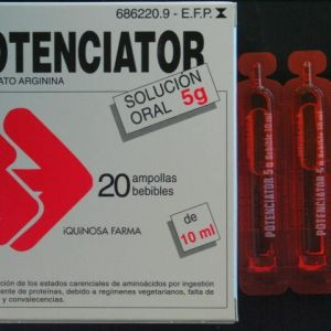 Potenciator (5 g 20 ampollas bebibles 10 ml)