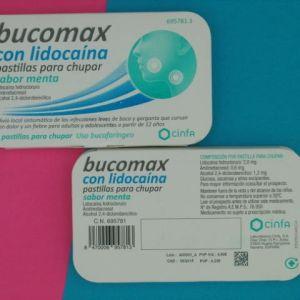 Bucomax lidocaina (8 pastillas para chupar menta)