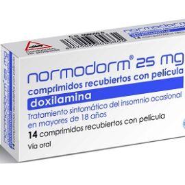 Normodorm (25 mg 14 comprimidos recubiertos)