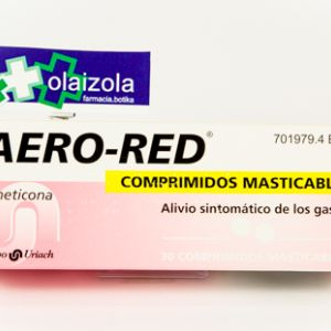 Aero red (40 mg 30 comprimidos masticables)