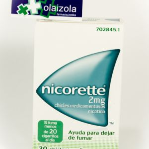 Nicorette (2 mg 30 chicles)