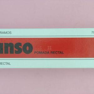 Anso (pomada rectal 50 g)
