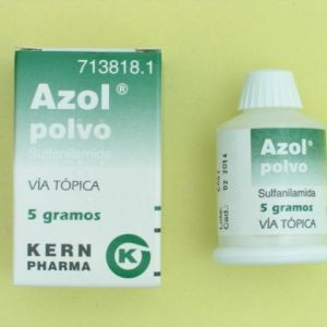 Azol polvo (100% polvo tópico 5 g)