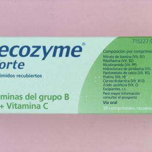 Becozyme c forte (30 comprimidos recubiertos)