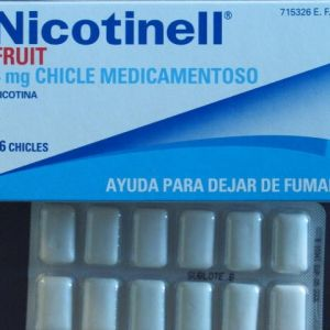 Nicotinell fruit (4 mg 96 chicles medicamentosos)
