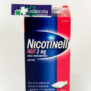 Nicotinell fruit (2 mg 96 chicles medicamentosos)