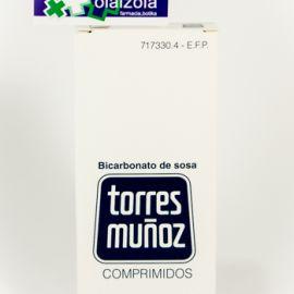 Bicarbonato de sosa torres muñoz (500 mg 30 comprimidos)